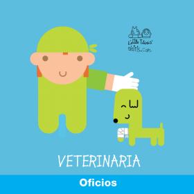 Oficios : Veterinaria